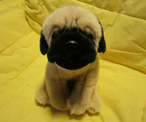 Ganz Webkinz Signature Pug Plush Dog