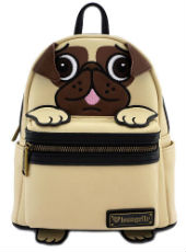 Loungefly Pug Faux Leather Mini Backpack