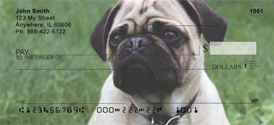 Precious Pugs Personal Checks