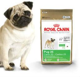 New Pug 25 Formula dog food