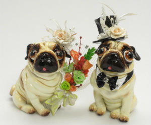 Decorate with a Pug Cake Topper!