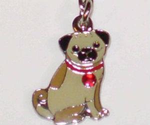Pug Necklace Pendant Bracelet Charm